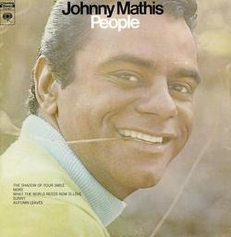 People (Johnny Mathis album) - Image: People (Johnny Mathis album cover art)
