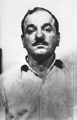 Philip Testa - 1956 Philadelphia Police Department mugshot of Philip Testa