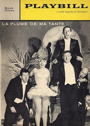 La Plume de Ma Tante - 1960 playbill