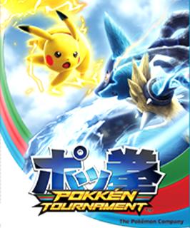 <i>Pokkén Tournament</i> arcade fighting game