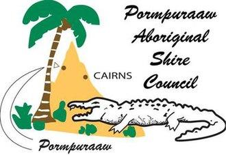 Aboriginal Shire of Pormpuraaw - Image: Pormpuraaw Aboriginal Shire Council Logo