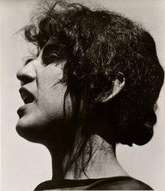 Guadalupe Marín - Portrait of Guadalupe Marín de Rivera by Edward Weston, 1924