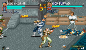 the punisher snes