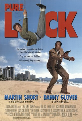 Pure Luck - Theatrical Release Poster
