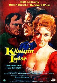 <i>Queen Louise</i> (1957 film) 1957 film by Wolfgang Liebeneiner