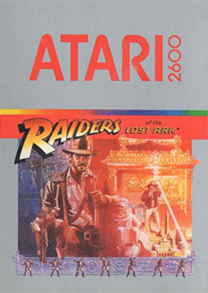 Raiders of the Lost Ark (video game) - Image: Raiders of the Lost Ark Coverart