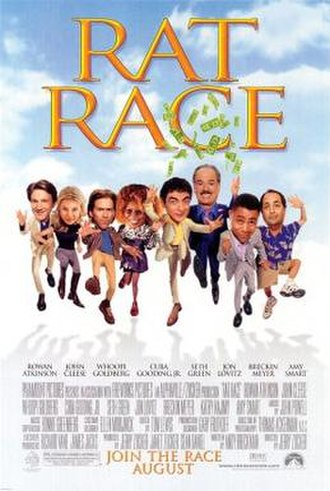 Rat Race (film) - Theatrical release poster