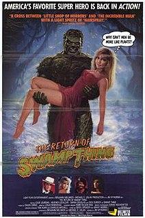 <i>The Return of Swamp Thing</i> 1989 film by Jim Wynorski