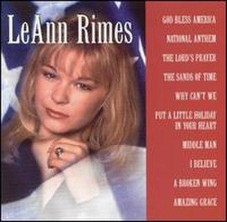 God Bless America (LeAnn Rimes album) - Image: Rimesbless
