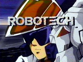 Robotech - Title screen from the 1985 television broadcast