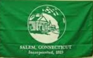 Salem, Connecticut - Image: Salem C Tflag