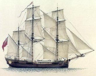 Scarborough (1782 ship) - Image: Scarborough (1782 ship)