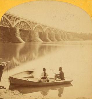 Second Aqueduct Bridge and boat