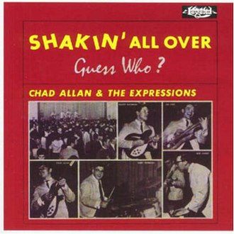 Shakin' All Over (album) - Image: Shakin' All Over