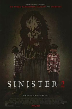 Sinister 2 - Theatrical release poster