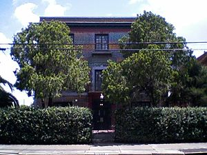 Congregation of the Immaculate Conception - The former Immaculate Conception Convent, 3037 Dauphine Street, New Orleans, in 2009.