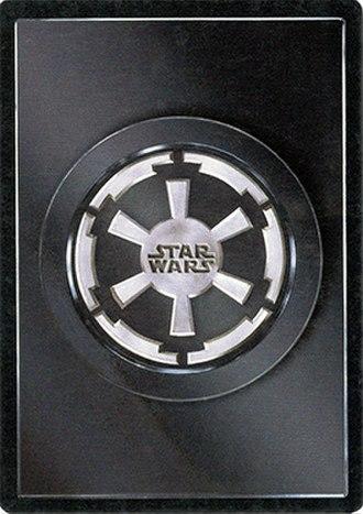 Star Wars Customizable Card Game - Star Wars CCG Dark Side cardback