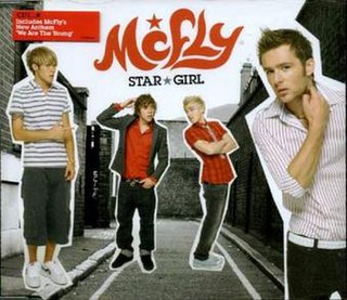 Star Girl (song) 2006 single by McFly