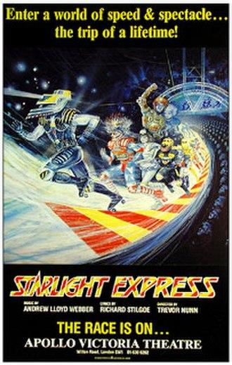 Starlight Express - 1984 London poster