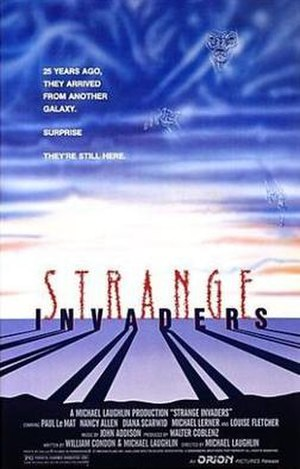 Strange Invaders - Promotional movie poster for the film