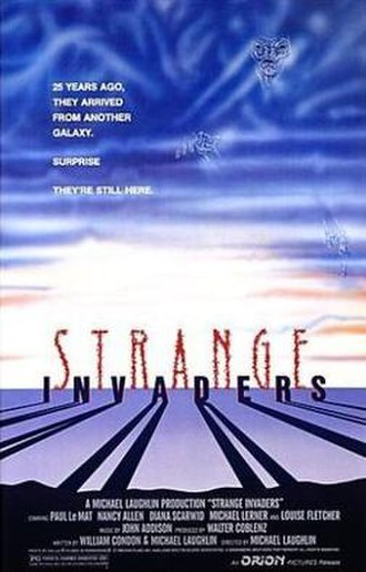 Strange Invaders - Promotional movie poster for the film