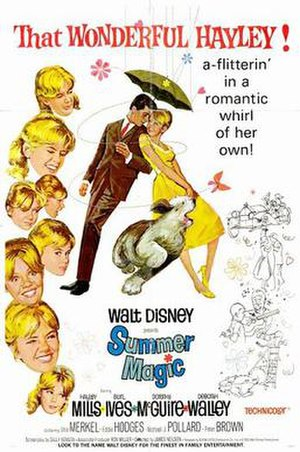 Summer Magic - Theatrical release poster