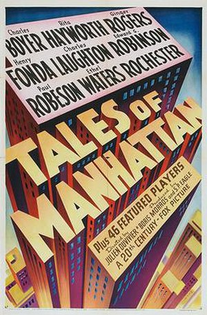 Tales of Manhattan - Theatrical release poster