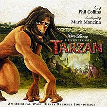 Image result for tarzan album cover