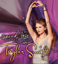 Taylor Swift - Tour Speak Now World (Poster) .png