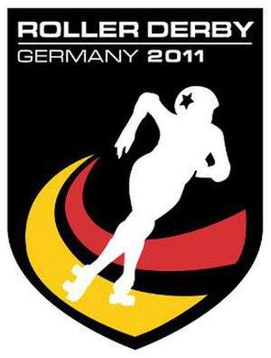 Roller Derby Germany - Image: Team Germany roller derby logo