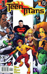 Cover to Teen Titans vol. 3, #1 (July 2003). Art by Mike McKone .
