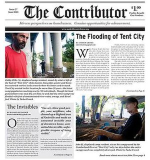 The Contributor (street paper) - Image: The Contributor June 2010