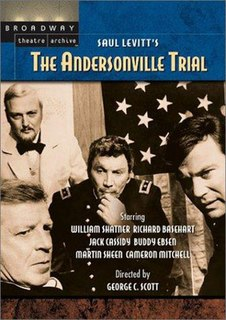 <i>The Andersonville Trial</i> 1970 courtroom drama TV film