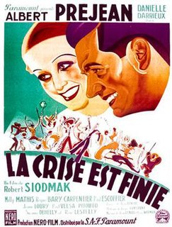 <i>The Crisis is Over</i> 1934 film