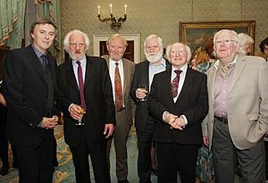 Dubliners 50 Years Anniversary Tour - Image: The Dubliners with President 2012