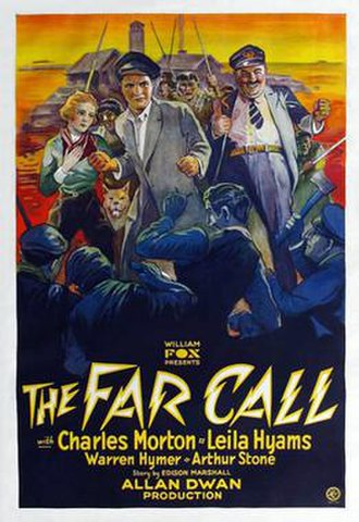 The Far Call - Theatrical release poster