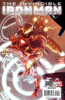 <i>The Invincible Iron Man</i> comic