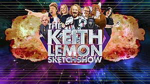 The Keith Lemon Sketch Show - The title card for series 2