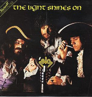 <i>The Light Shines On</i> 1977 greatest hits album by Electric Light Orchestra