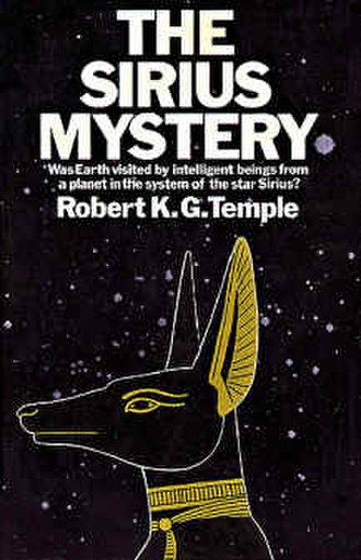 The Sirius Mystery - Cover of the first edition