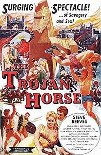 <i>The Trojan Horse</i> (film) 1961 film directedby Giorgio Ferroni