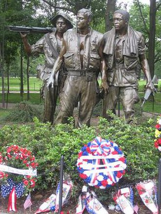 The Three Soldiers - The Three Soldiers memorial