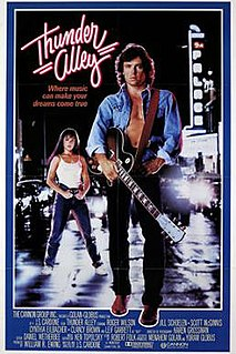 <i>Thunder Alley</i> (1985 film) 1985 film by J. S. Cardone