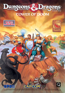 <i>Dungeons & Dragons: Tower of Doom</i> 1993 video game