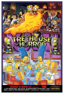 Treehouse of Horror XXV episode of The Simpsons (S26 E4)