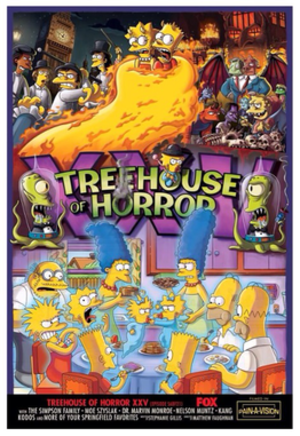 Treehouse of Horror XXV - Image: Treehouse of Horror XXV