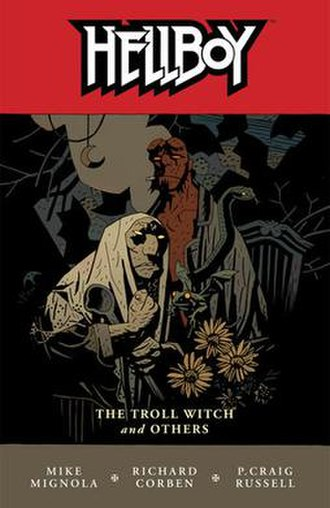 Hellboy: The Troll Witch and Others - Trade Paperback Cover