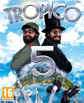 Censorship in Thailand - The cover of Tropico 5, a tropical dictator game banned by Thailand's Ministry of Culture in 2014.