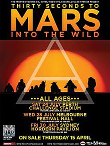 30 Seconds To Mars Map Of The World.Into The Wild Tour Wikipedia