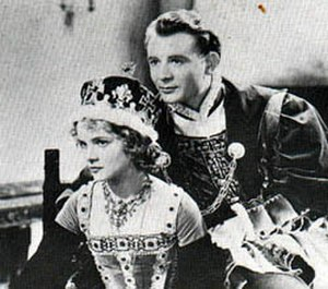 Tudor Rose (film) - Nova Pilbeam and John Mills